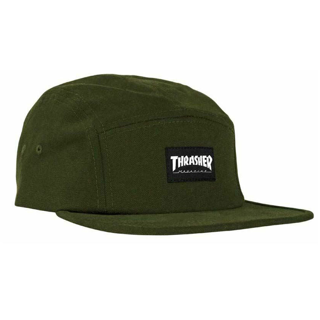 Thrasher 5 Panel Army Green