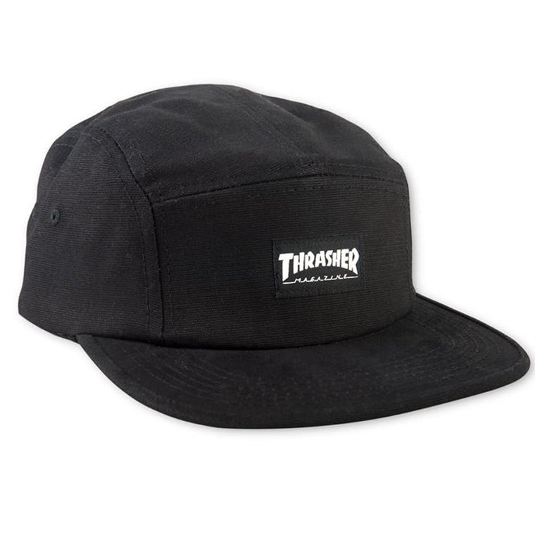 Thrasher 5 Panel Black