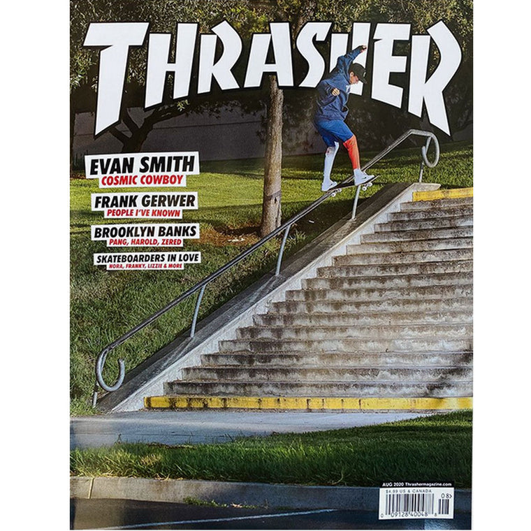 Thrasher Magazine August 2020