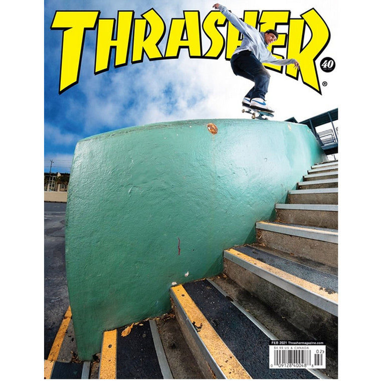 Thrasher Magazine February 2021