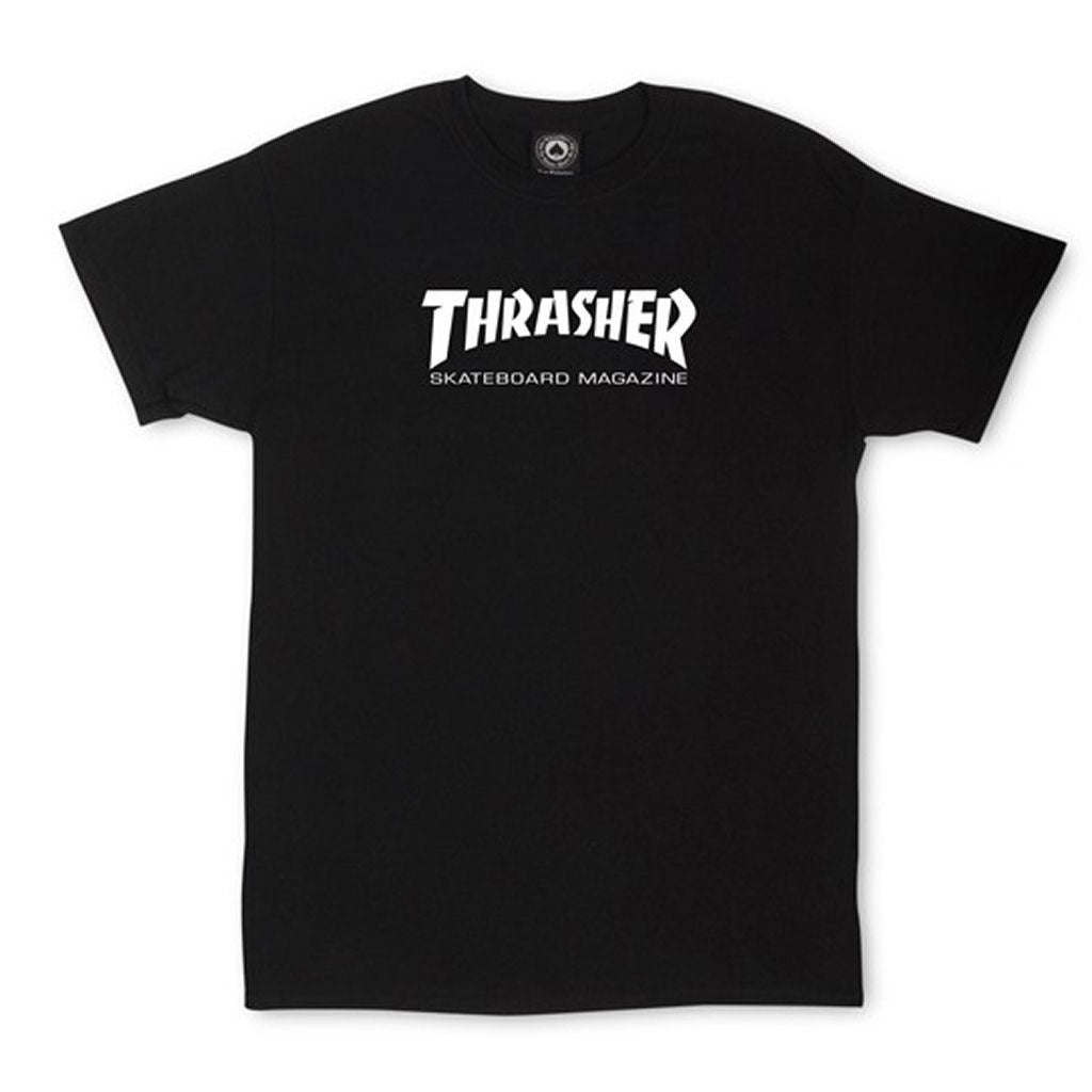 Thrasher Skate Mag Logo tee Black Youth