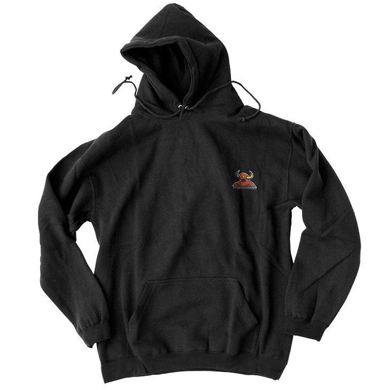 Toy Machine Monster Embroidered hoodie black