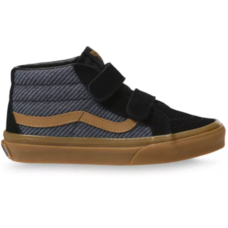 Vans Sk8 Mid Reissue V Kids Suiting Black