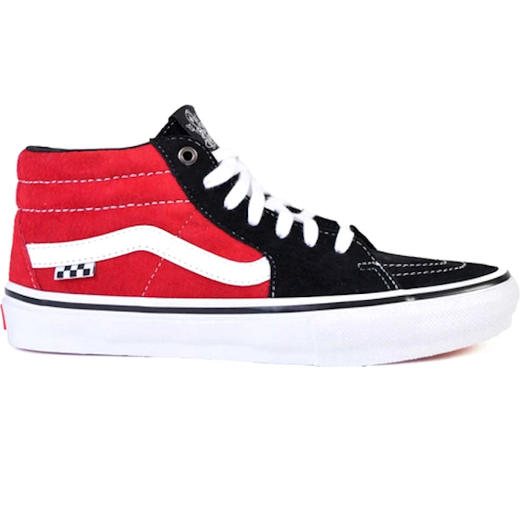 Vans Skate Grosso Mid Red Black