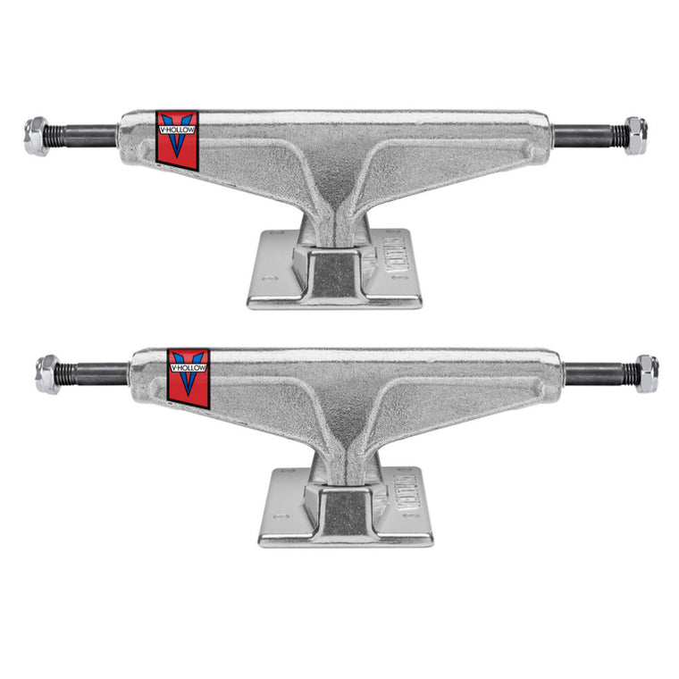 Venture Trucks All Polished Hollow Axle 5.0 Low 7.63