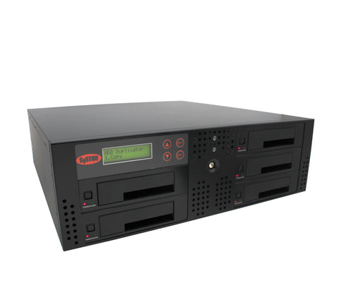 1 to 4 SATA 150MB/S Rackmount Hard Disk Drive / Solid State Drive (HDD/SSD) Duplicator & Sanitizer (SYS04HD150RM-DP)