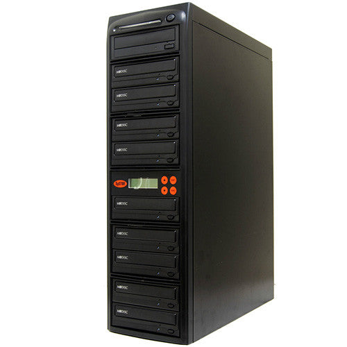 9 M-Disc Burner 24X CD DVD Duplicator Copier- (SYS09DS24X)