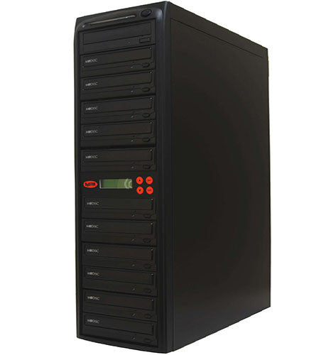 11 M-Disc Burner 24X CD DVD Duplicator Copier- (SYS11DS24X)