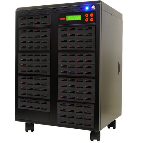1 to 127 SD / MicroSD Memory Card Duplicator Copier Tower - (SYS127SD)