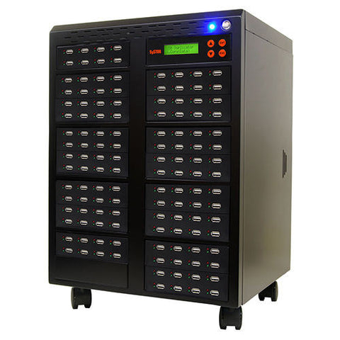 1 to 127 USB Flash Drive Duplicator Copier Tower  - (SYS127USB)