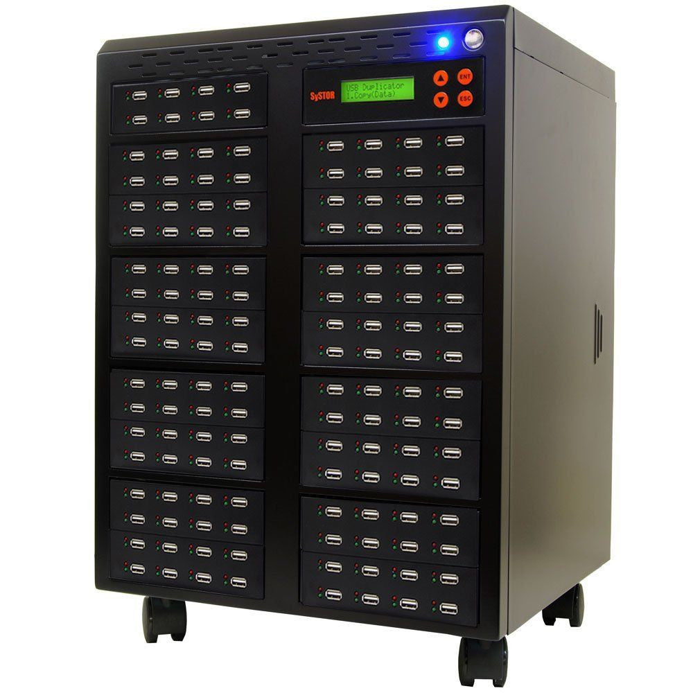 1 to 135 USB Flash Drive Duplicator Machine  - (SYS135USB)