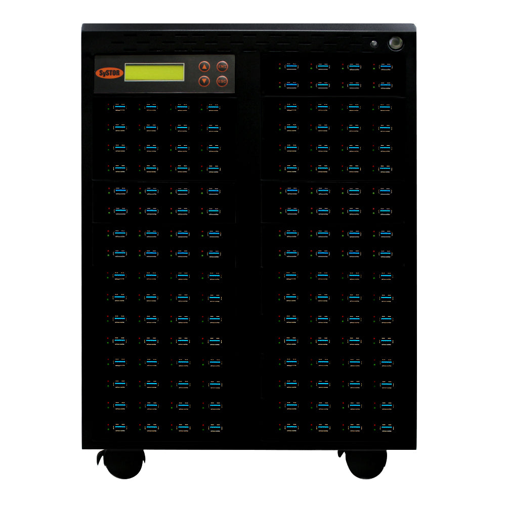 Systor 1:199 USB 3.1 100MB/s Flash Drive Duplicator - (SYS199USB31100) - Up to 6GB per Minute