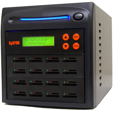 1 to 15 SD / MicroSD Memory Card Duplicator Machine - (SYS15SD)