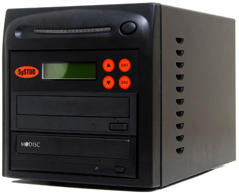 1 M-Disc Burner 24X CD DVD Duplicator Copier - (SYS01DS24X)