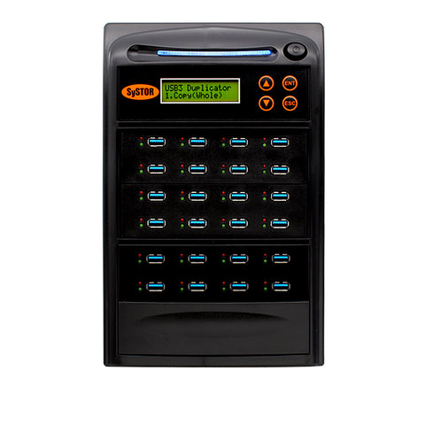 Systor 1:23 USB 3.1 100MB/s Flash Drive Duplicator - (SYS23USB31100) - Up to 6GB per Minute