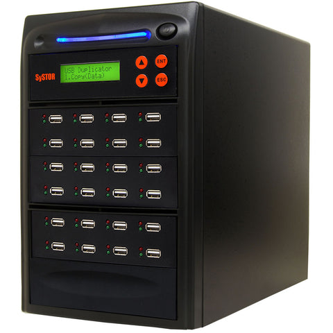 1 to 23 USB Drive Duplicator Machine  - (SYS23USB)