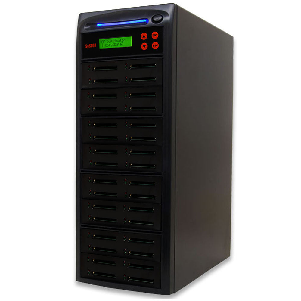 1 to 31 Compact Flash CF Memory Card Duplicator - (SYS31CFD)