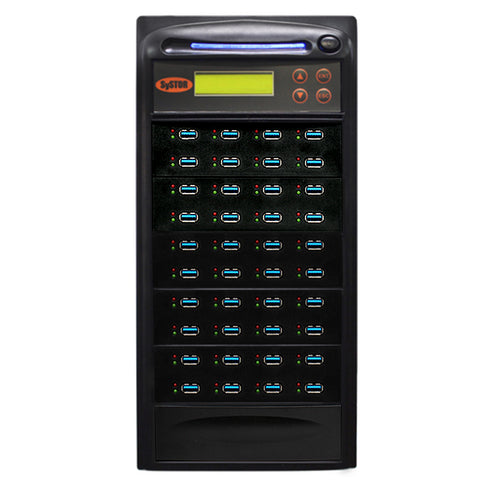 Systor 1:39 USB 3.1 100MB/s Flash Drive Duplicator - (SYS39USB31100) - Up to 6GB per Minute