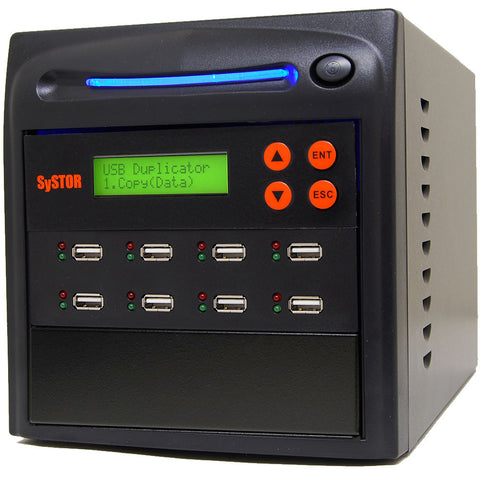 1 to 7 USB Drive Duplicator - (SYS07USB)