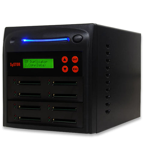 1 to 7 Compact Flash CF Card Duplicator - (SYS07CFD)