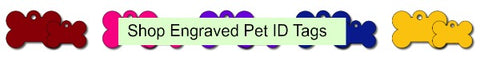 Engraved Pet ID tags online