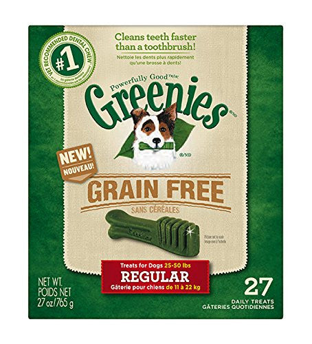 GREENIES Dental Chews Regular Treats - Grain Free