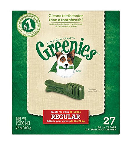 GREENIES Dental Chews Regular Treats