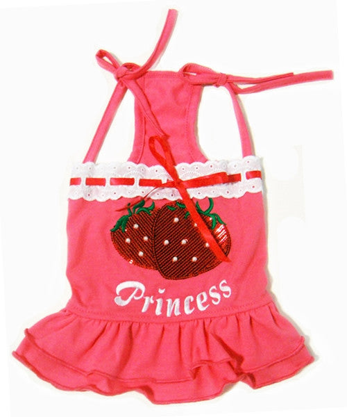 Princess Dress Dark Pink