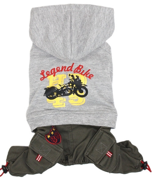 Legend Bike Jumpsuit Gray