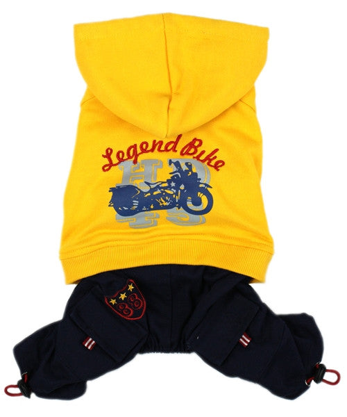 Legend Bike Jumpsuit Yellow