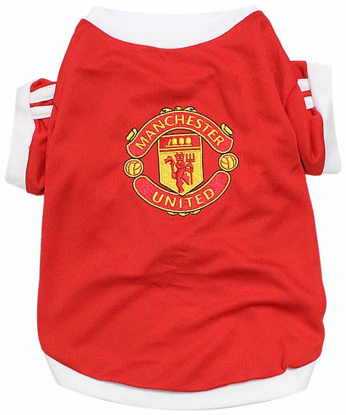Manchester United Dog Soccer Jersey