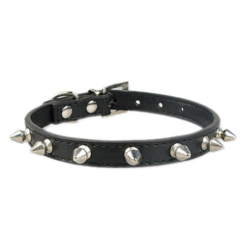 Spiked Collar Black