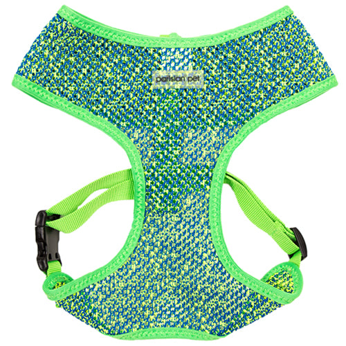 Sport Harness - Green/Blue - Pupaholic.com