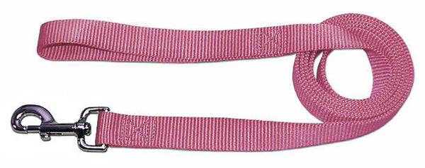 "4' x 3/4"" Nylon Lead - Light Pink"