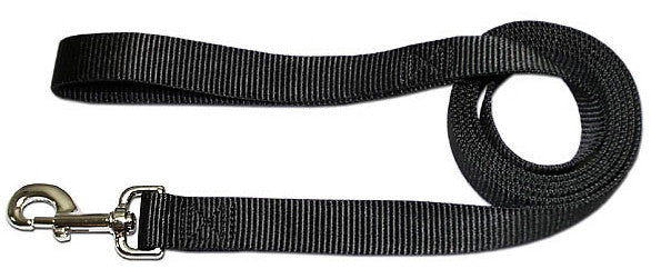 "4' x 3/4"" Nylon Lead - Black"