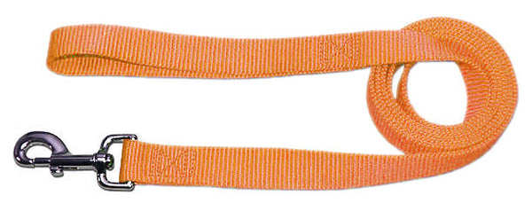 "4' x 3/4"" Nylon Lead - Peach"