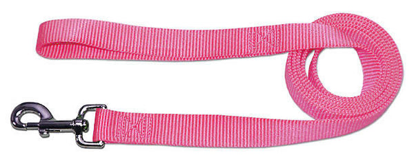 "4' x 3/4"" Nylon Lead - Rose"