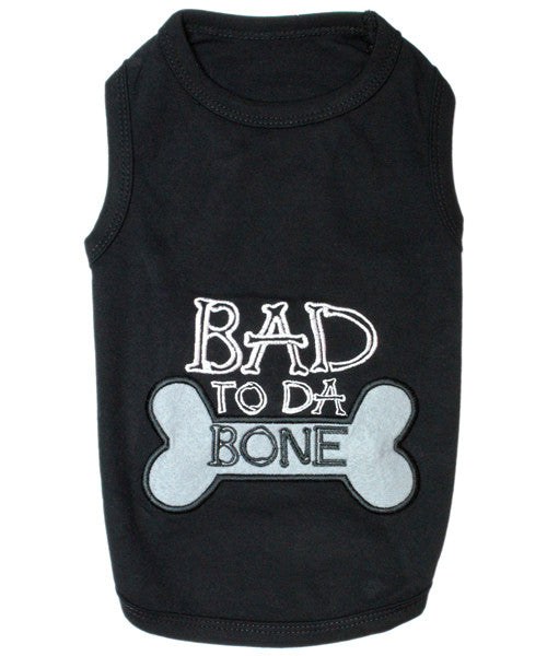Black Dog Shirt - Bad to da Bone - Pupaholic.com