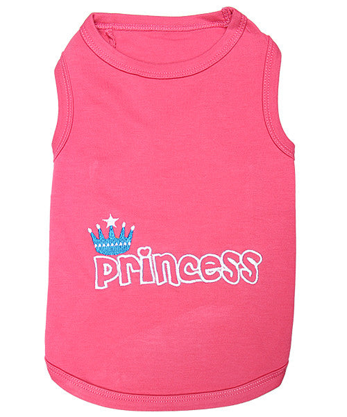 Pink Dog Shirt - Princess - Pupaholic.com