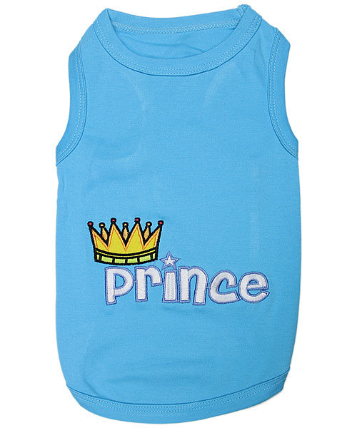 Blue Dog Shirt - Prince