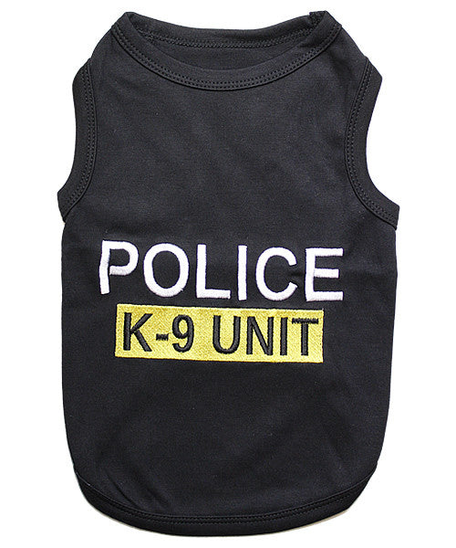 Police Dog Shirt - Black
