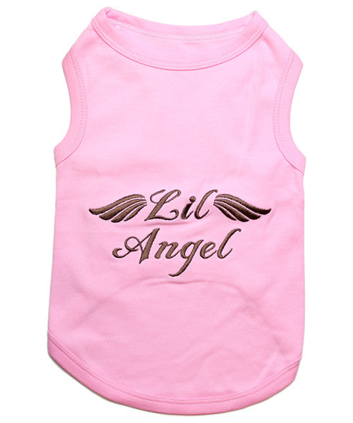 Pink Dog Shirt - Lil Angel