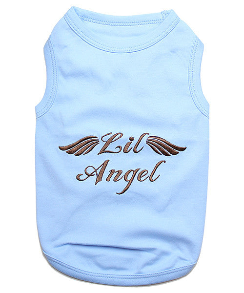Blue Dog Shirt - Lil Angel