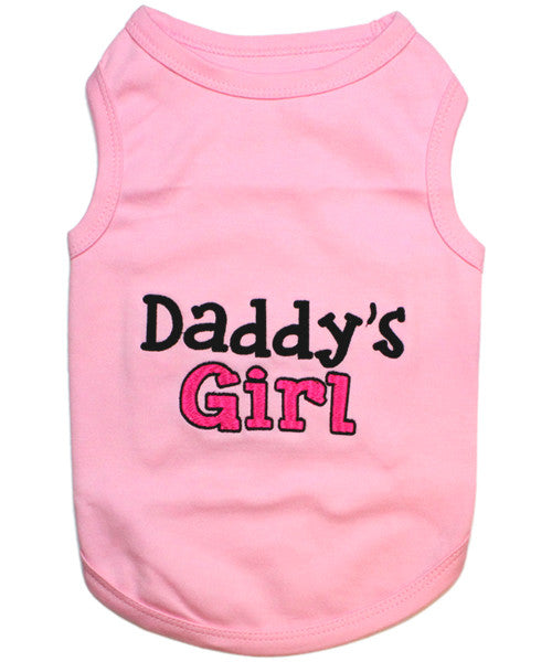 Pink Dog Shirt - Daddy's Girl - Pupaholic.com