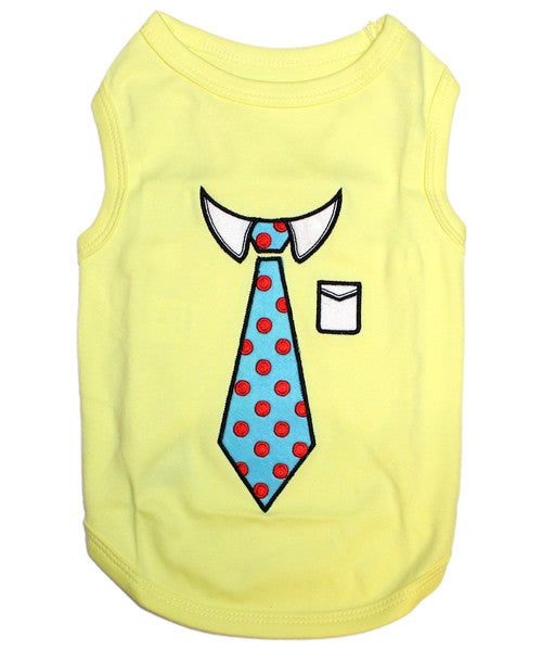 Yellow Dog Shirt - Tie - Pupaholic.com