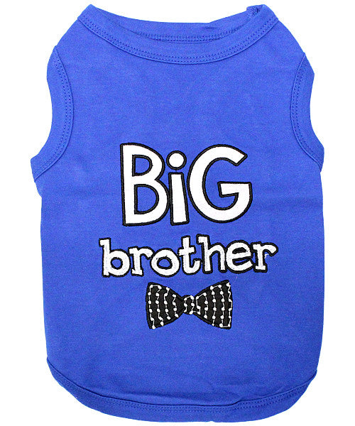 Blue Dog Shirt - Big Brother