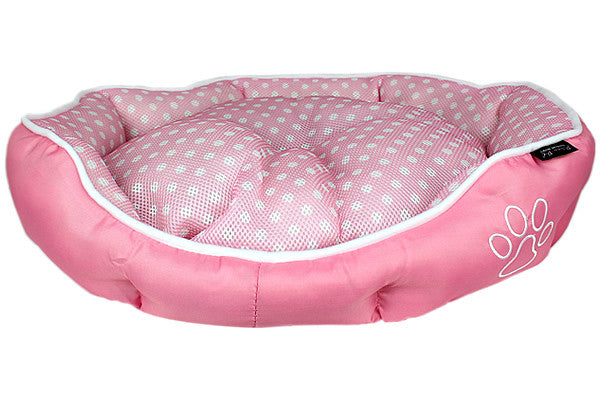 Polka Dot Bed - Pink