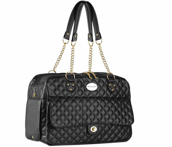 Quilted Pet Carrier - Parisian Pet - London