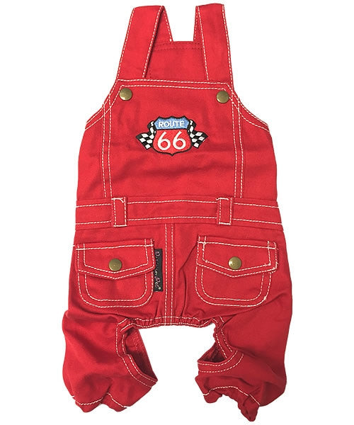 Route 66 Jumpsuit Red