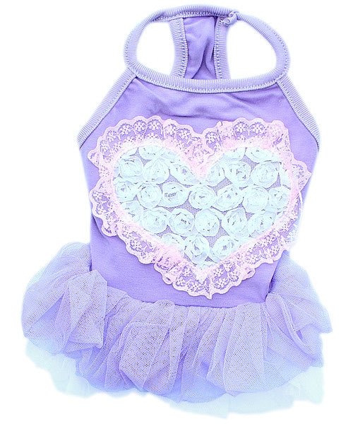 Tutu Heart - Purple